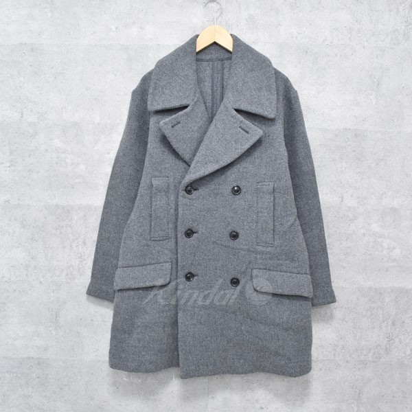 【中古】UNUSED 17AW Double Breasted Coat Pコート US1314 【送料無料】 【168406】 【KIND1550】