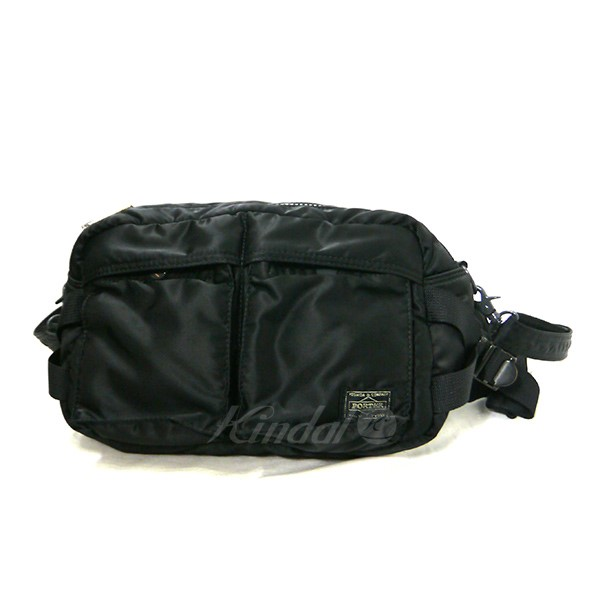 kindal  PORTER porter TANKER 2WAY WAIST BAG bum-bag shoulder bag ... cb95728c3e