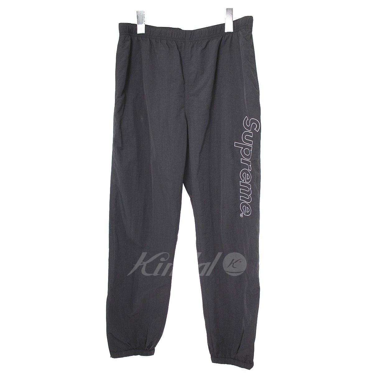 【中古】SUPREME 16S Warm Up Pant ロゴナイロンパンツ 【送料無料】 【001466】 【KIND1550】