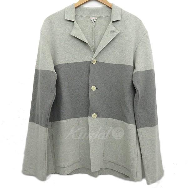 【中古】FilMelange ニットジャケット グレー サイズ:3 【送料無料】 【281018】(フィルメランジェ)