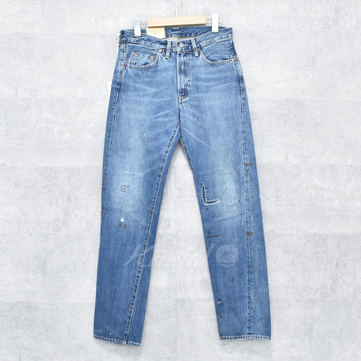 【中古】LEVIS VINTAGE CLOTHING LOT 50154ダメージ加工デニム 【送料無料】 【259067】 【KIND1550】