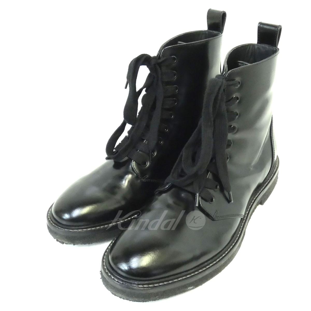 【中古】REPRESENT 「WORK BOOT」ワークブーツ ブラック サイズ:10 【送料無料】 【281018】(リプレゼント)