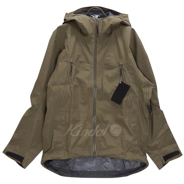 【中古】ARCTERYX LEAF ALPHA LT JACKET GEN2 18864 Crocodile サイズ:M 【送料無料】 【281018】(アークテリクス)