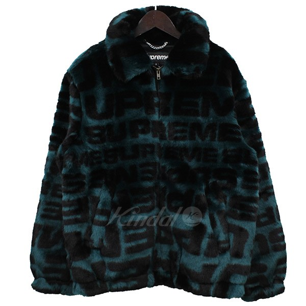 【中古】Supreme 2018SS Faux Fur Repeater Bomber Jacket ファーブルゾン 【送料無料】 【000732】 【KIND1550】