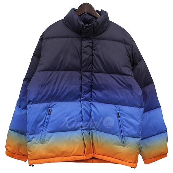 【中古】Supreme 2018SS Gradient Puffy Jacket グラデーションダウンブルゾン 【送料無料】 【000812】 【KIND1550】