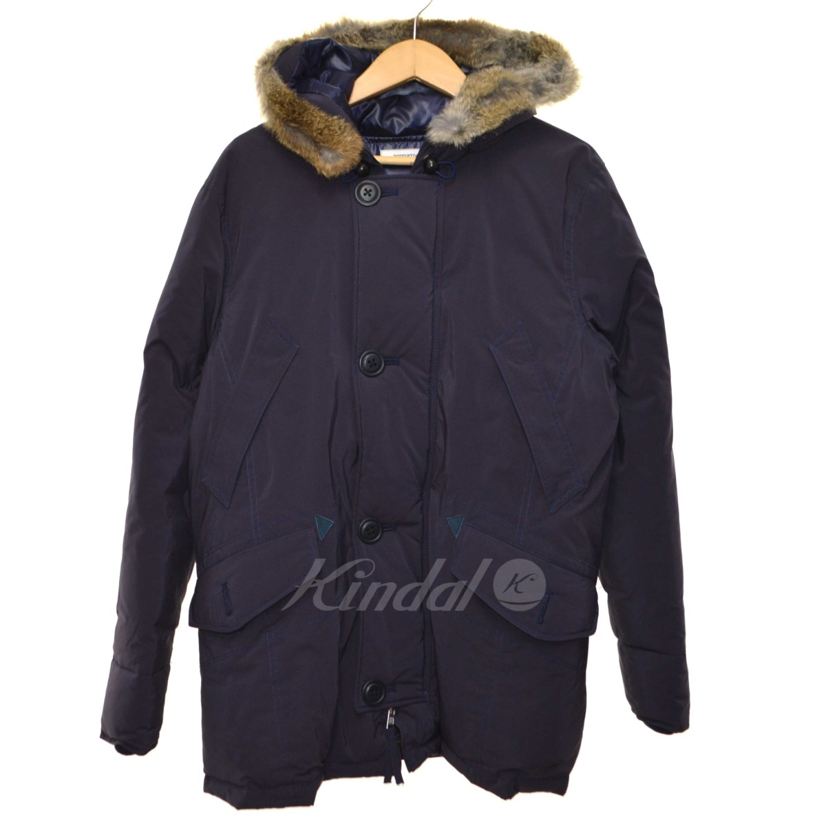 【中古】nonnative 2013AW「EXPLORER HOODED DOWN JACKET」フライトジャケット 【送料無料】 【001434】 【KIND1550】