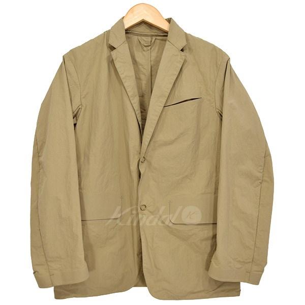 【中古】DESCENTE PAUSE 塩縮テーラードジャケット 【送料無料】 【010687】 【KIND1550】