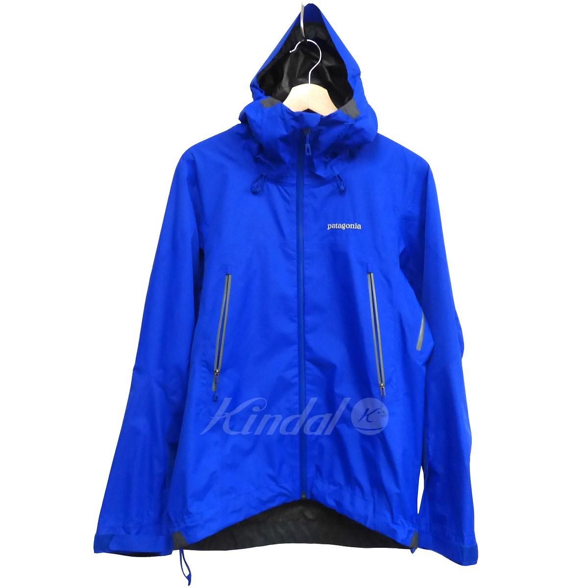 【中古】patagonia GORE-TEXゴアテックス Super Cell JKTスーパーセルジャケット ブルー サイズ:XS 【送料無料】 【281018】(パタゴニア)
