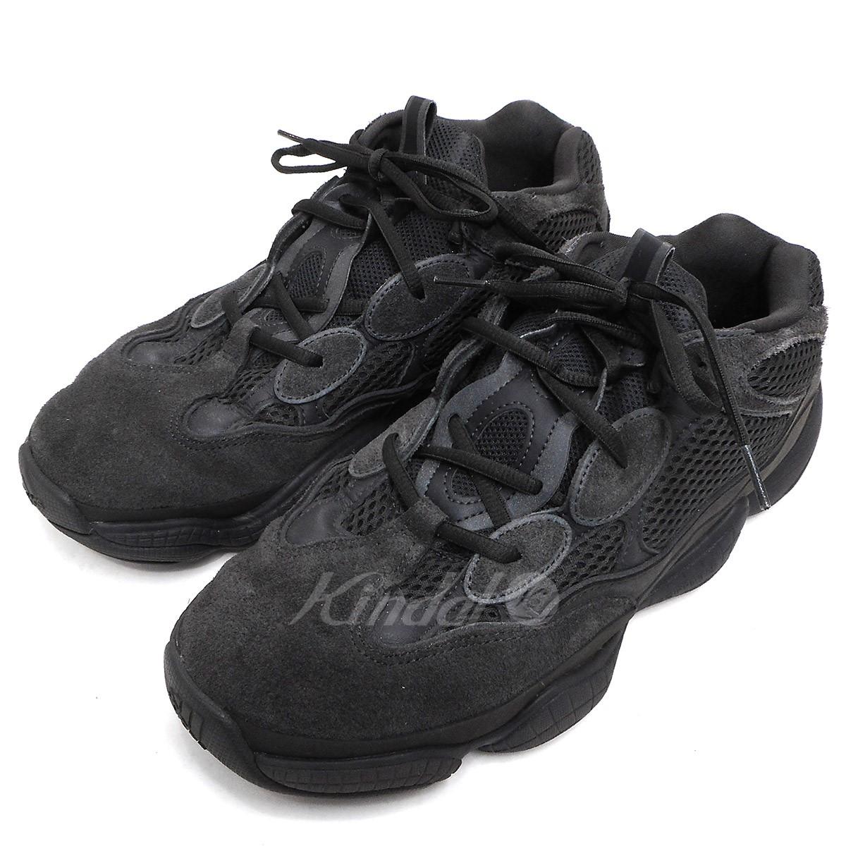 【中古】adidas originals by Kanye West F36640 YEEZY 500 イージー500 スニーカー ブラック サイズ:US10.5 【送料無料】 【281018】(アディダス オリジナルス バイ カニエ ウエスト)