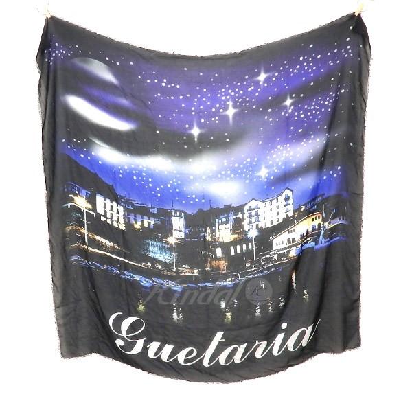 【中古】BALENCIAGA Cruise Silk Lightweight Scarve&Shawls スカーフ ブラック サイズ:- 【送料無料】 【281018】(バレンシアガ)