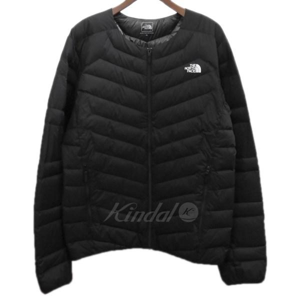 【中古】THE NORTH FACE 「Thunder Roundneck Jacket」 インナーダウンジャケット ブラック サイズ:XL 【送料無料】 【311018】(ザノースフェイス)