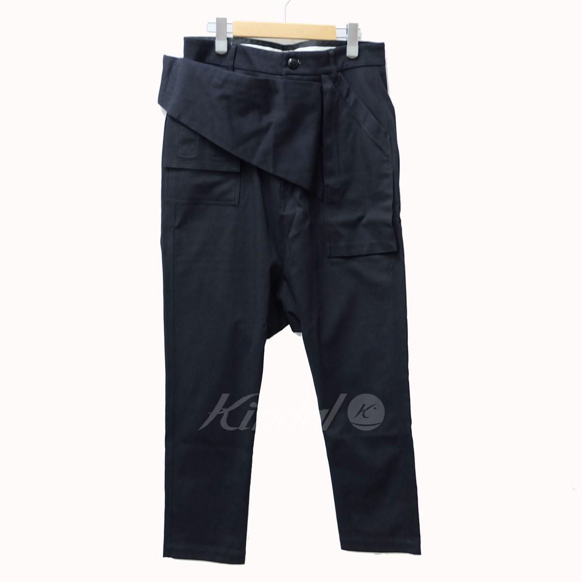 【中古】Rick Owens Belted Pants サルエルパンツ ブラック サイズ:48 【送料無料】 【011118】(リックオウエンス)