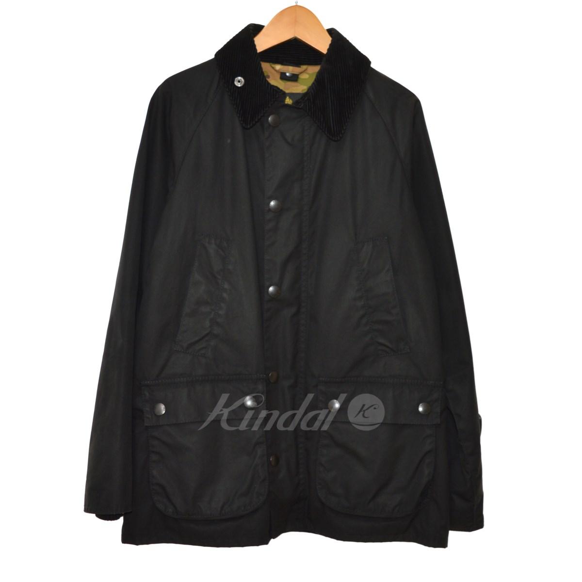 【中古】Barbour×SOPH 14AW SLIM-FIT BEDALE オイルドコットンビデイルジャケット ブラック サイズ:34 【送料無料】 【011118】(バーブァー×ソフ)