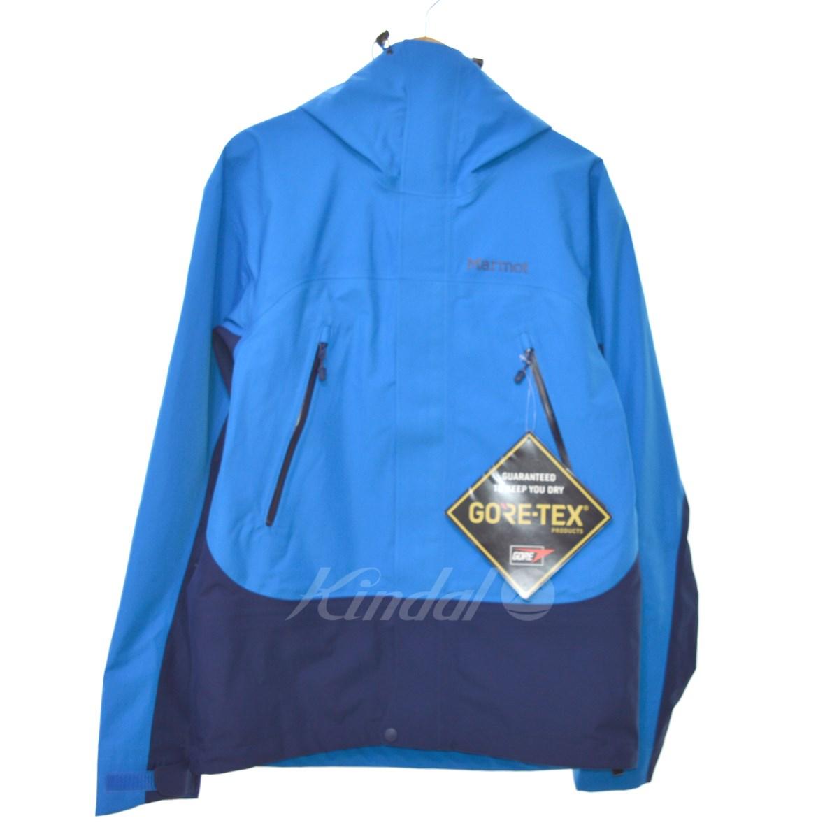 【中古】Marmot Spire Jacket/マウンテンパーカー ブルー サイズ:S 【送料無料】 【011118】(マーモット)