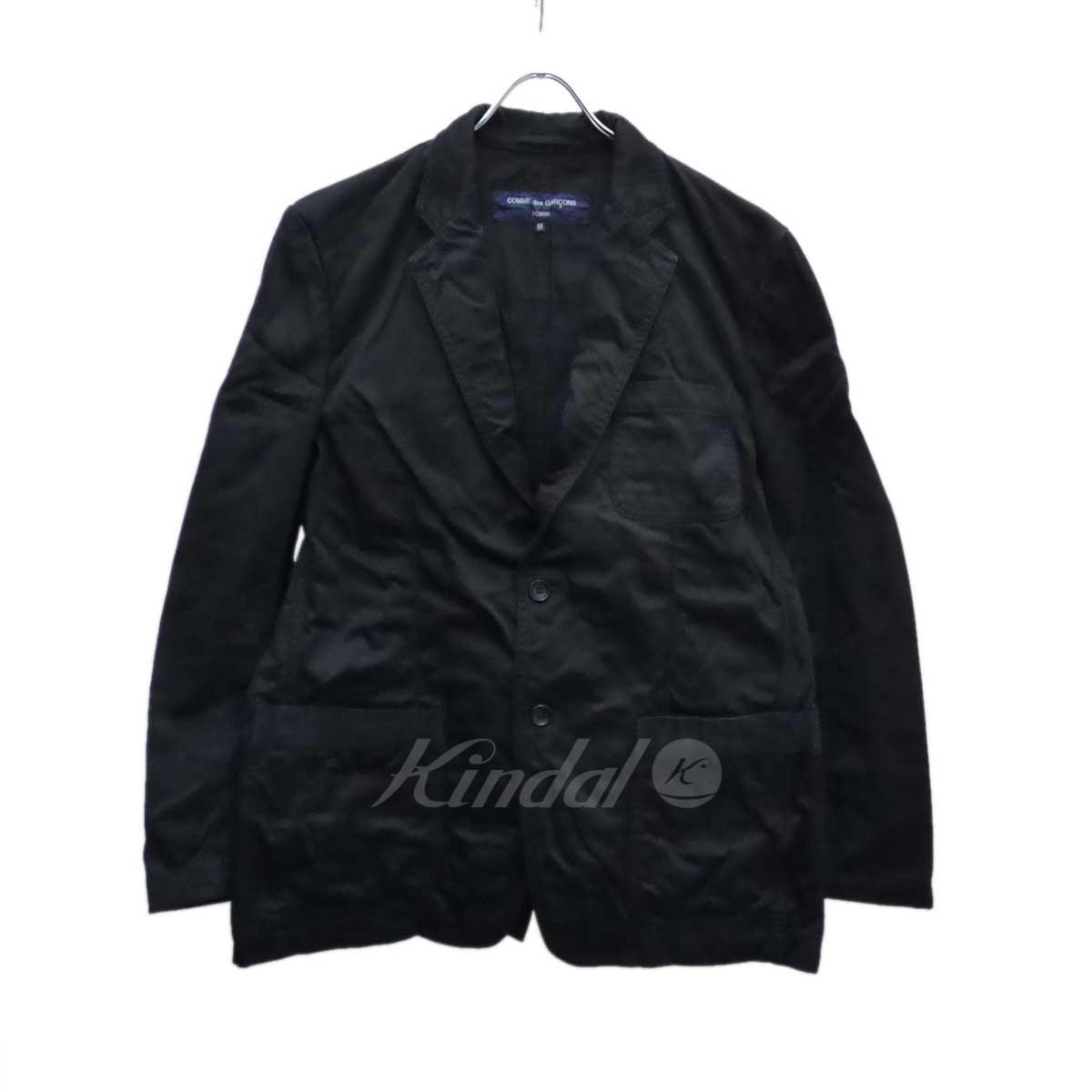 【中古】COMME des GARCONS HOMME 2Bジャケット ブラック サイズ:M 【送料無料】 【011118】(コムデギャルソンオム)