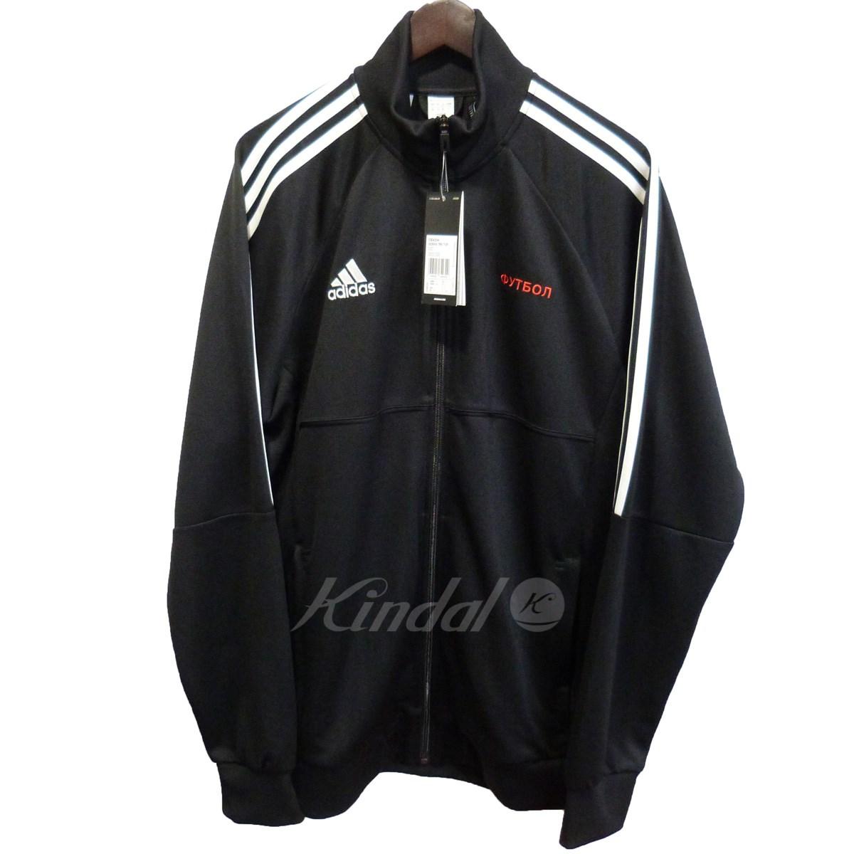 【中古】Gosha Rubchinskiy × adidas 【17AW】「GOSHA TRK TOP」トラックジャケット ブラック サイズ:US L 【送料無料】 【011118】(ゴーシャラブチンスキー アディダス)