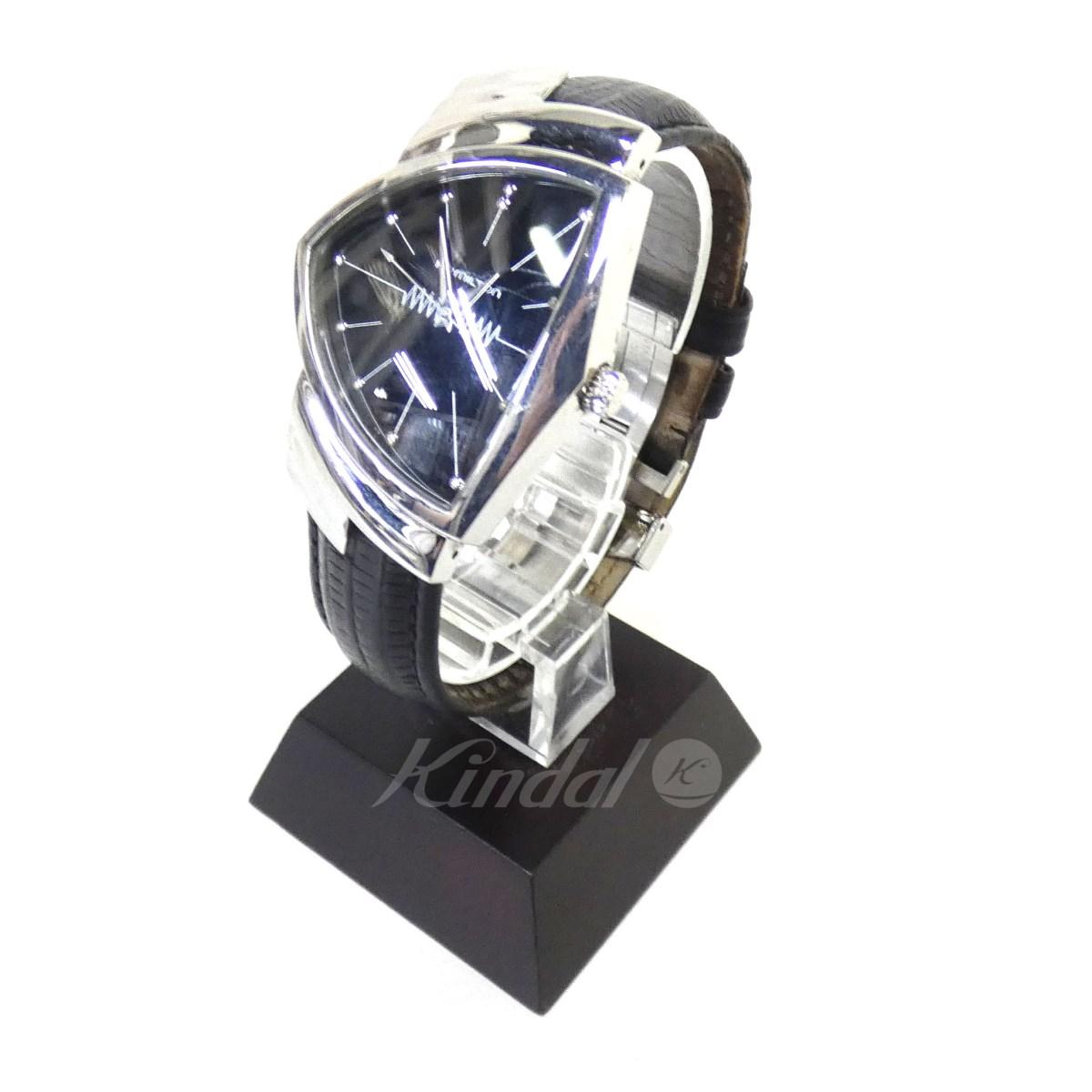 【中古】HAMILTON 「ベンチュラ」クオーツ腕時計 H244110 【送料無料】 【111365】 【KIND1550】