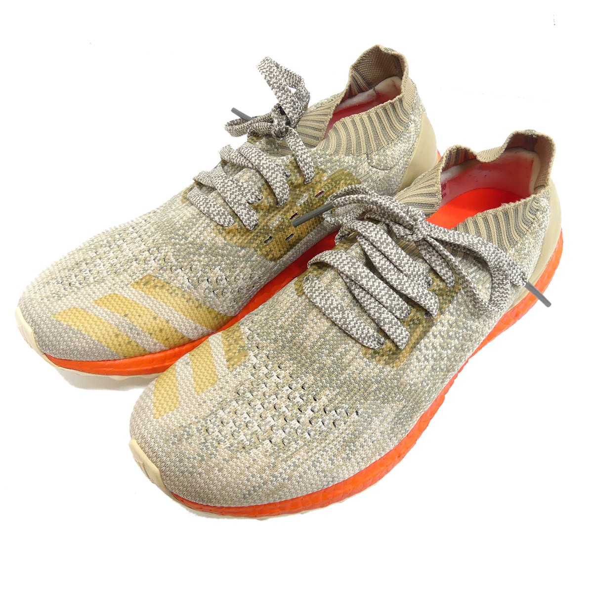 design intemporel 9d2a4 e6631 ADIDAS ORIGINALS ULTRA BOOST UNCAGED CL sneakers S82064 beige size: 27. 5cm  (Adidas originals)