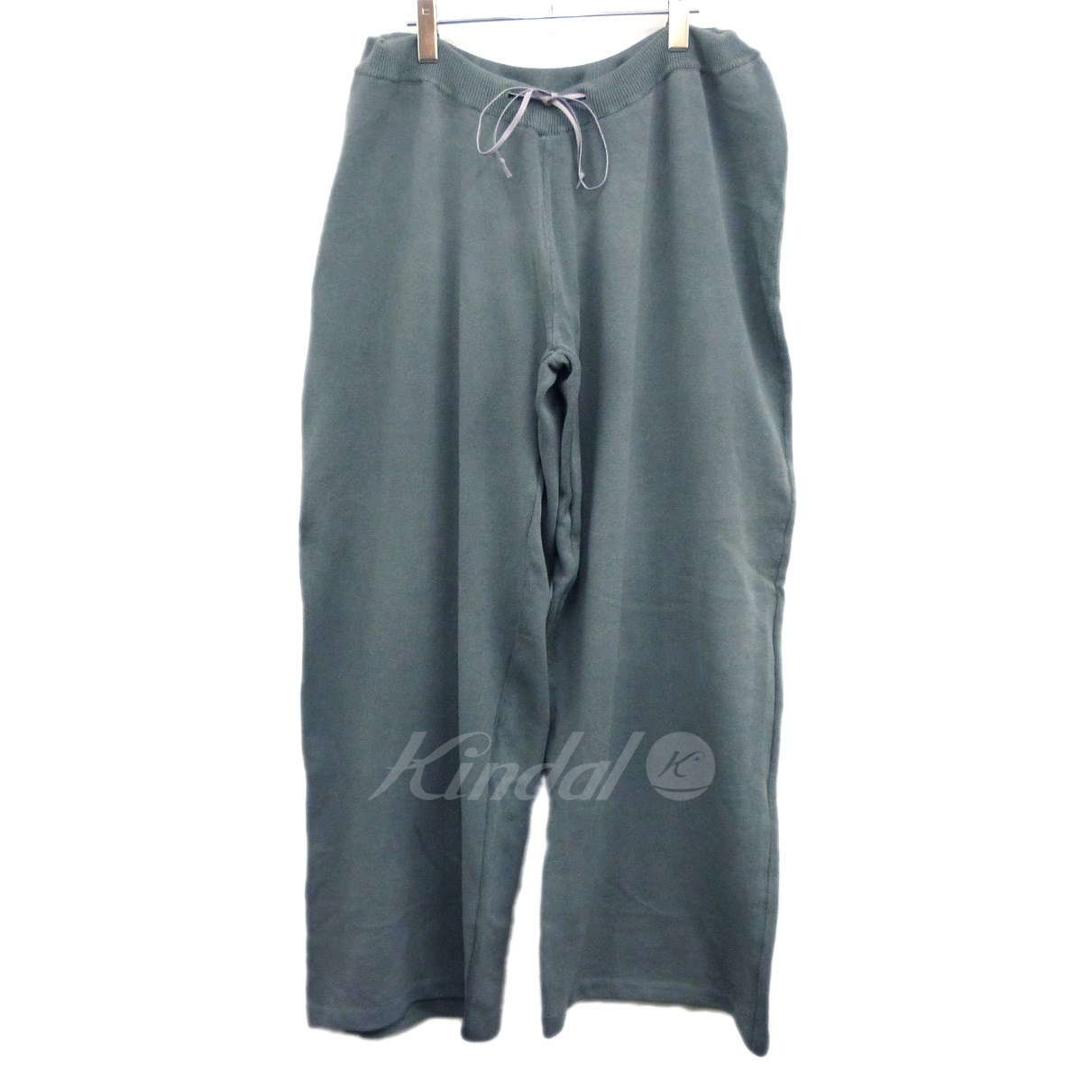 【中古】MAISON EUREKA 18AW「LINED CORD EASY KNIT PANTS」ワイドイージーニットパンツ 【送料無料】 【142488】 【KIND1550】