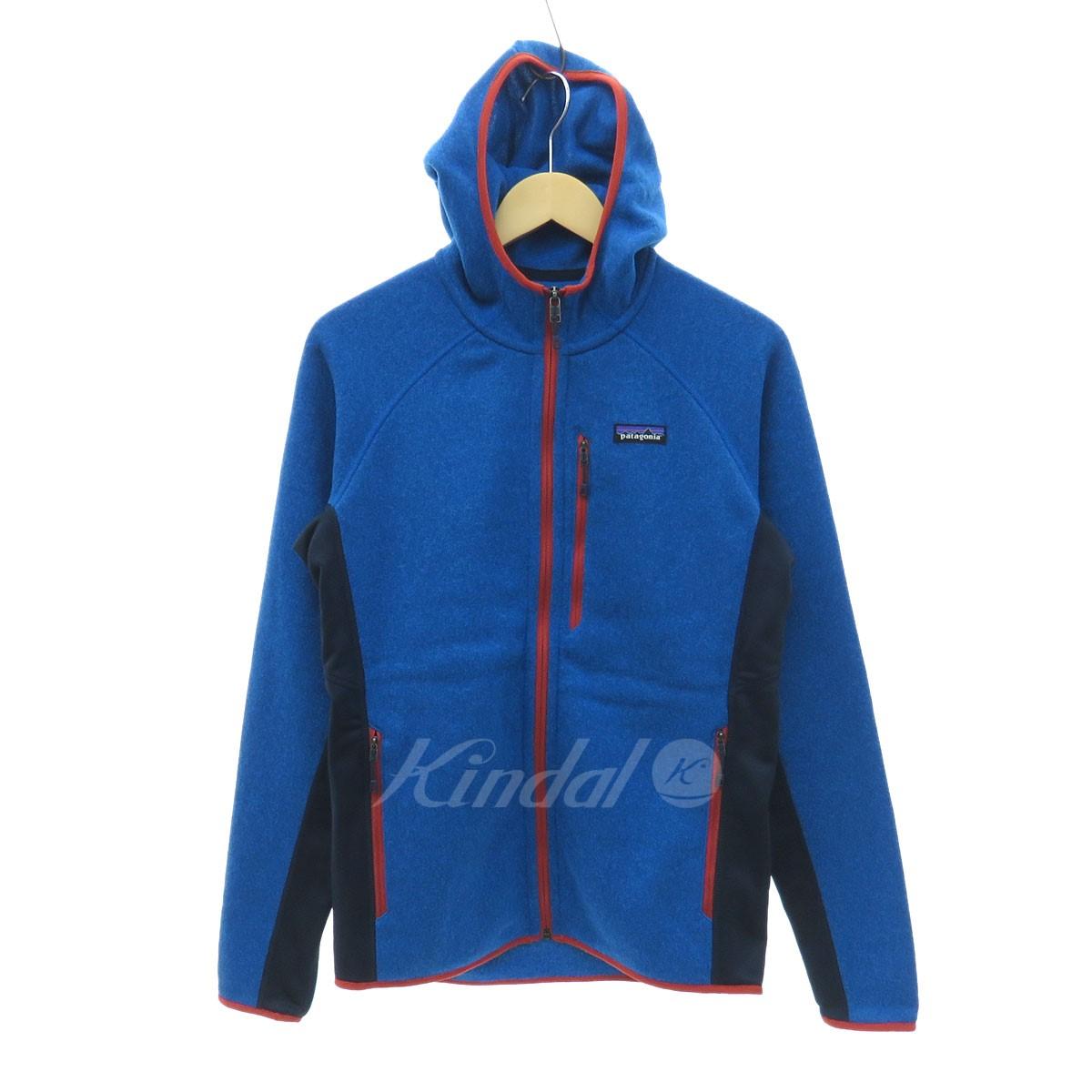 【中古】patagonia Performance Better Sweater Hoody ジップアップパーカー ブルー サイズ:S 【送料無料】 【031118】(パタゴニア)