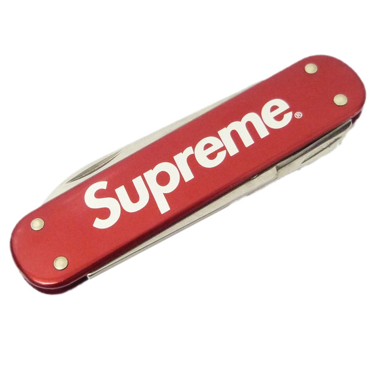 【中古】Supreme x Victorinox 15AW「Money Clip」マネークリップ レッド サイズ:- 【送料無料】 【031118】(シュプリーム ビクトリノックス)
