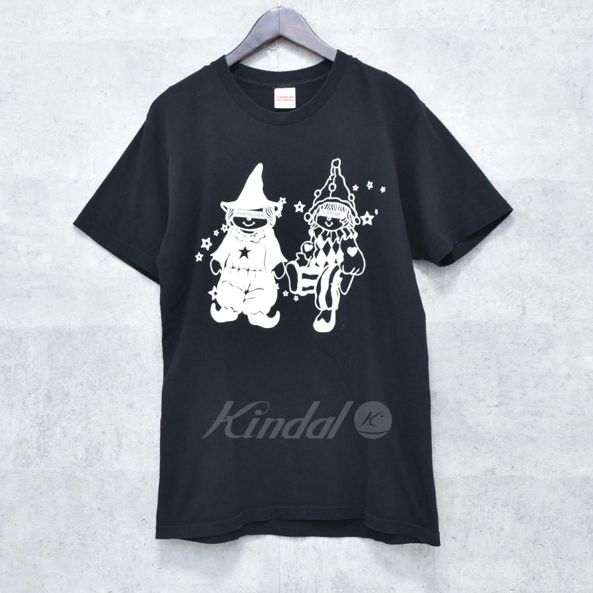 【中古】SUPREME × UNDERCOVER 16AW プリントTシャツ DollTee ブラック サイズ:M 【送料無料】 【041118】(シュプリーム アンダーカバー)