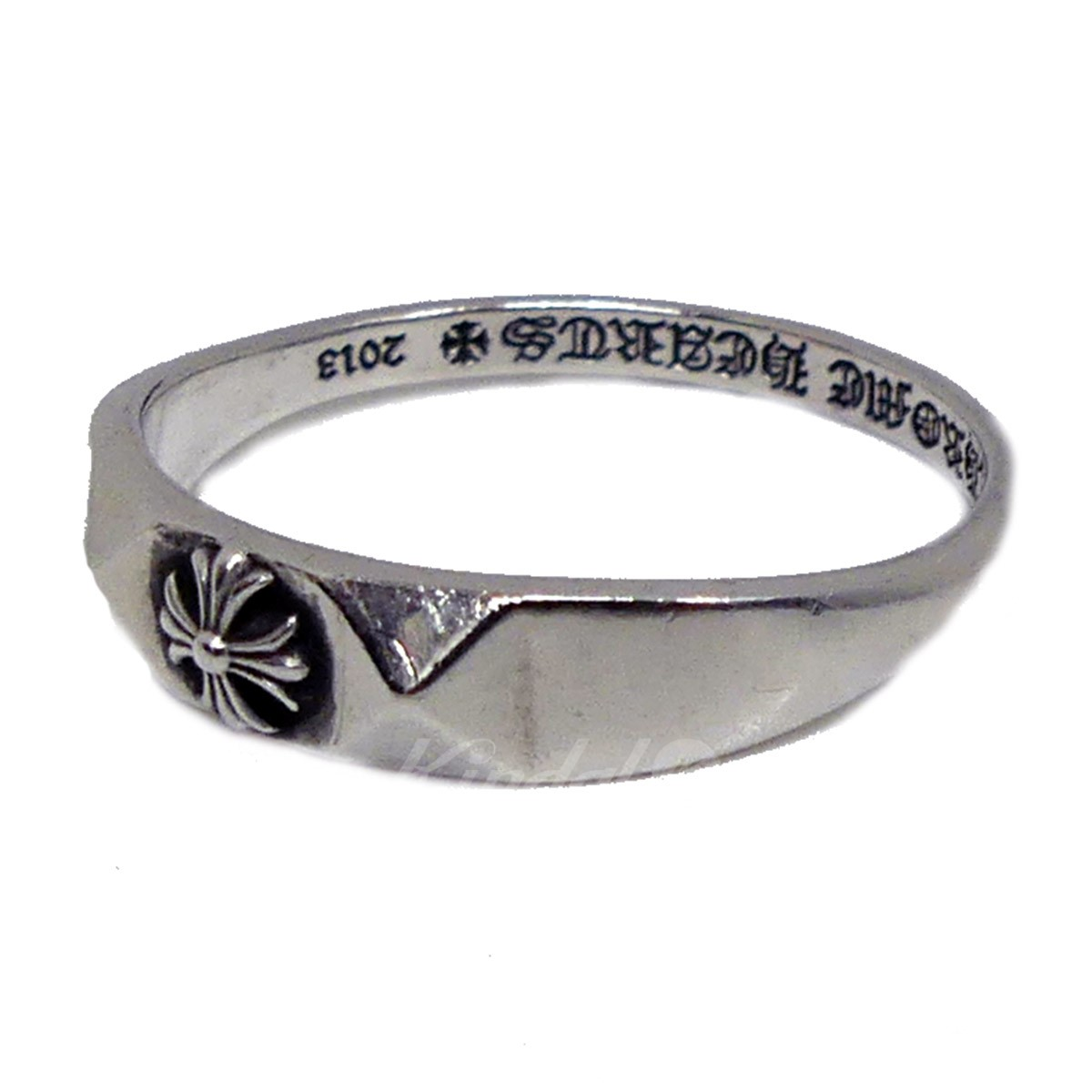 【中古】CHROME HEARTS BBBLGM PYRAMID SILVER925 リング 【送料無料】 【152140】 【KIND1550】