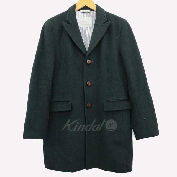 【中古】soe shirts LEISURE PADDED CHESTER COAT 【送料無料】 【048794】 【KIND1550】