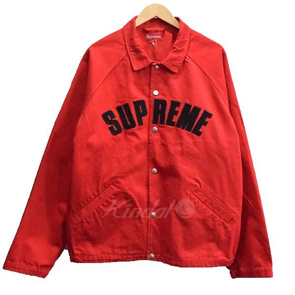 【中古】SUPREME 18AW Snap Front Twill Jacket ジャケット 【送料無料】 【004931】 【KIND1550】