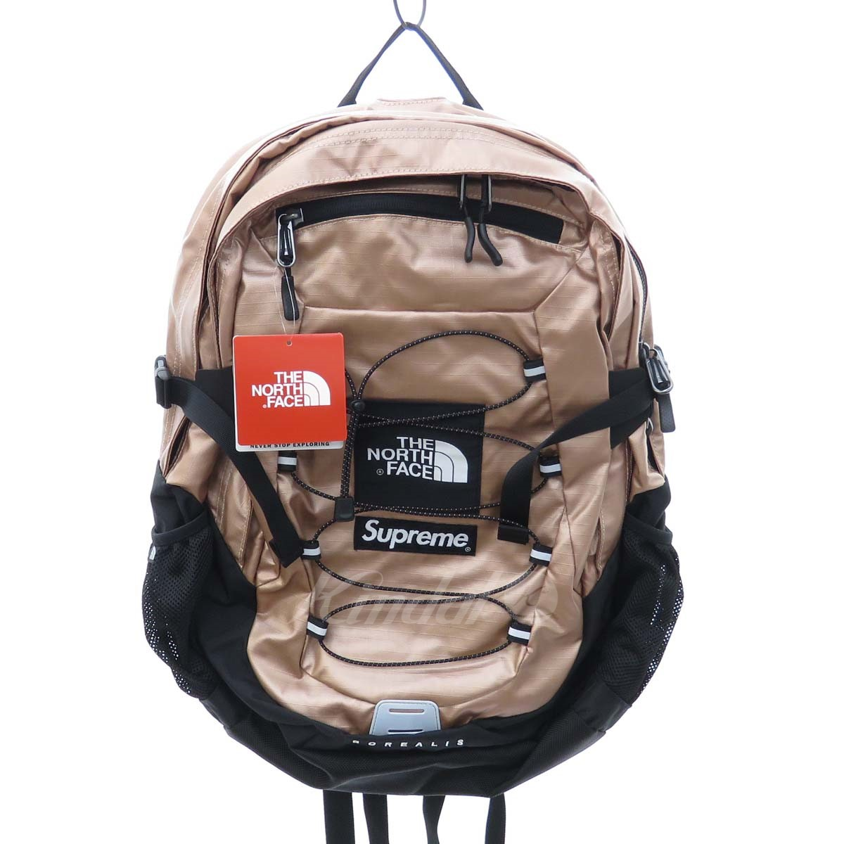 afc1ddaa2 Supreme X THE NORTH FACE 18SS Metallic Borealis Backpack backpack Rose gold  (シュプリーム X ザノースフェイス)