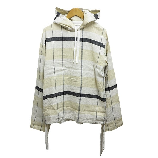 【中古】SUNSEA 2 3WAY Check Leyered Pull Over Parka 【送料無料】 【002188】 【KIND1641】