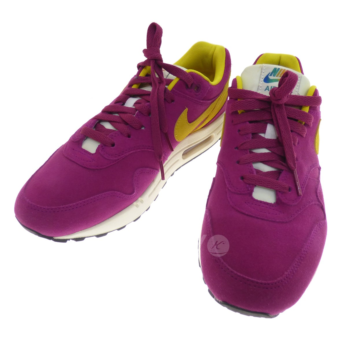competitive price 7bdfd 6c298 NIKE AIR MAX 90 PREMIUM low-frequency cut sneakers purple size  27 5 ...