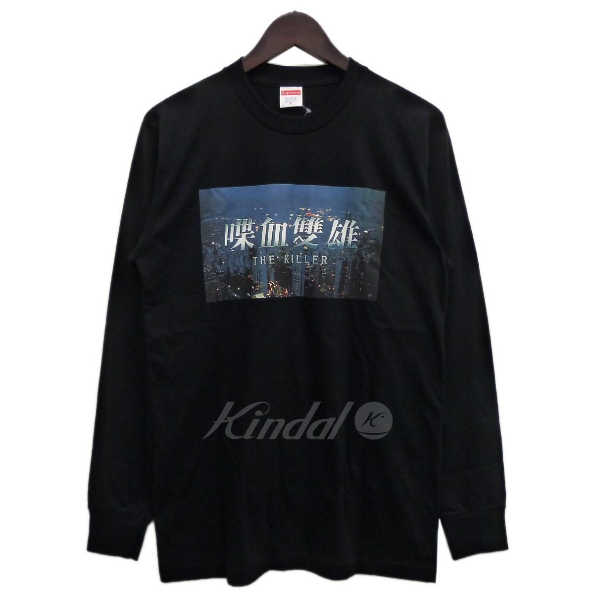 【中古】SUPREME 18AW「Killer L/S Tee」キラー長袖Tシャツ ブラック サイズ:S 【送料無料】 【091118】(シュプリーム)