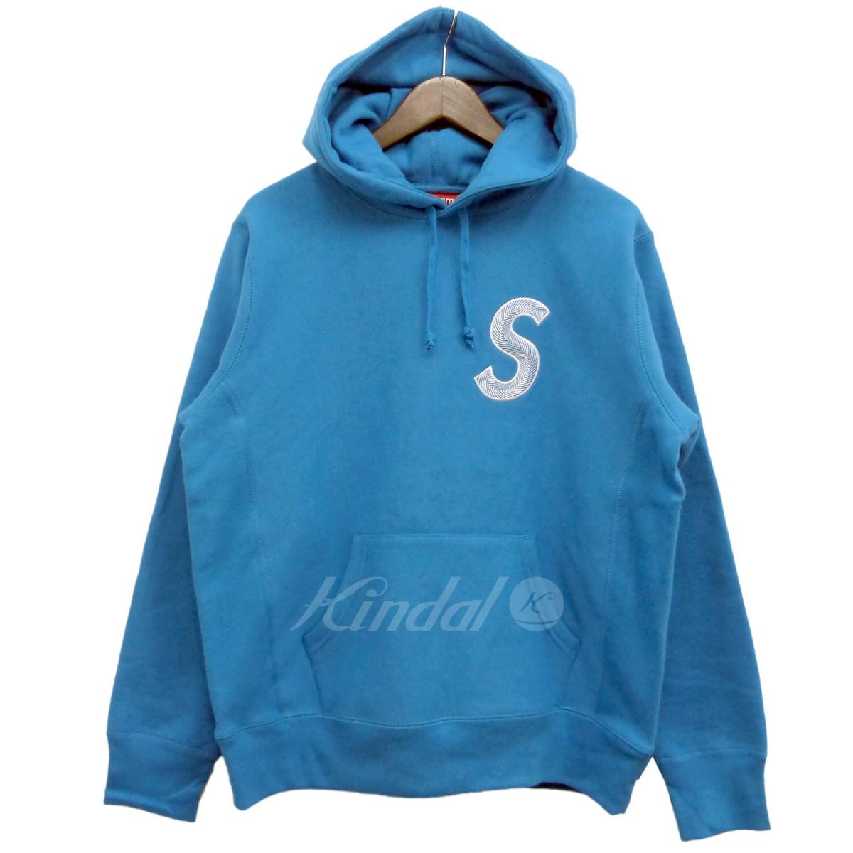 【中古】SUPREME 18AW「S Logo Hooded Sweatshirt」エスロゴプルオーバーパーカー ブライトロイヤル サイズ:S 【送料無料】 【101118】(シュプリーム)