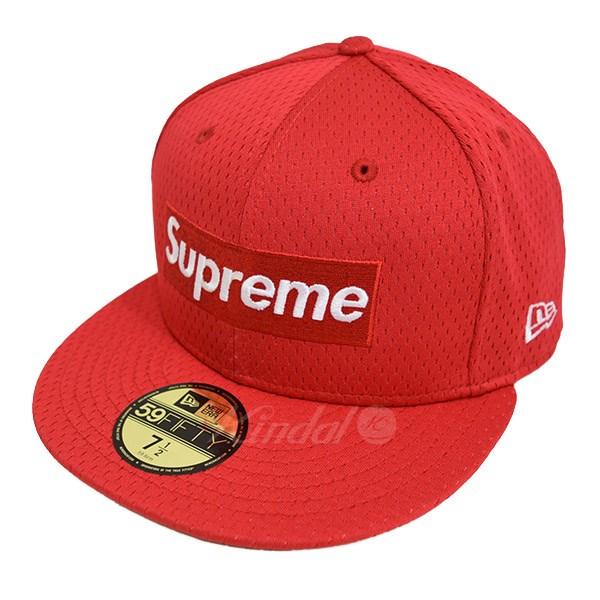 【中古】SUPREME Mesh Box Logo New Era Cap ボックスロゴ キャップ ニューエラ 2018SS 【送料無料】 【010830】 【KIND1550】