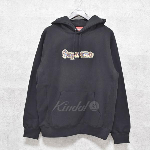 【中古】SUPREME 18SS Gonz Logo Hooded Sweatshirt プルオーバーパーカー 【送料無料】 【077005】 【KIND1550】