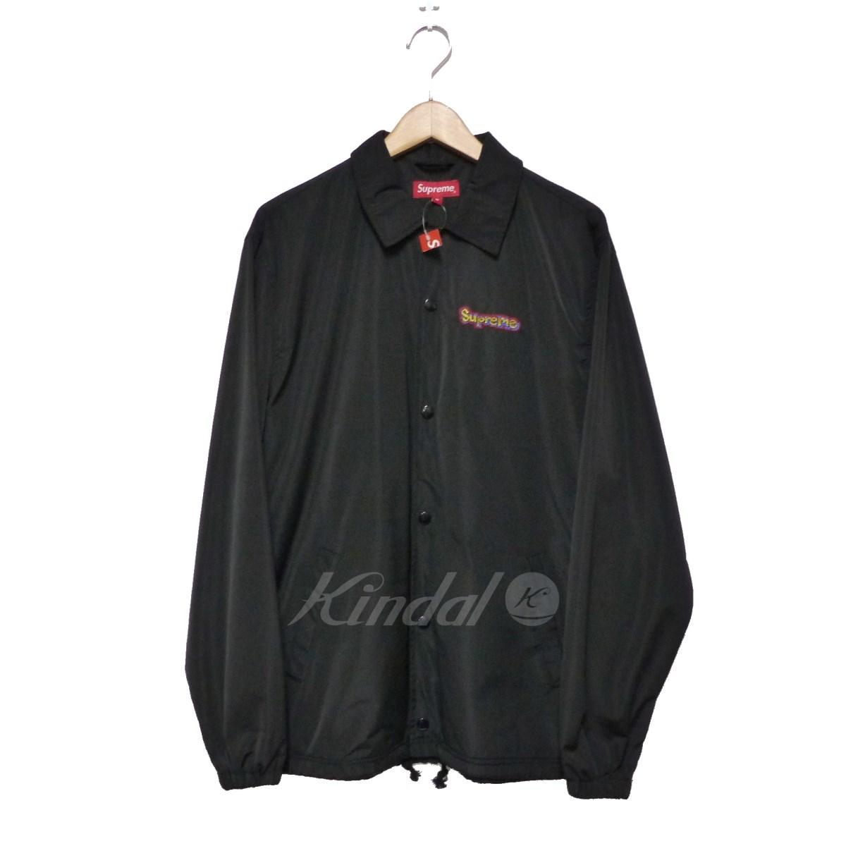 【中古】SUPREME 2018SS Gonz Logo Coaches Jacket 【送料無料】 【146558】 【KIND1550】
