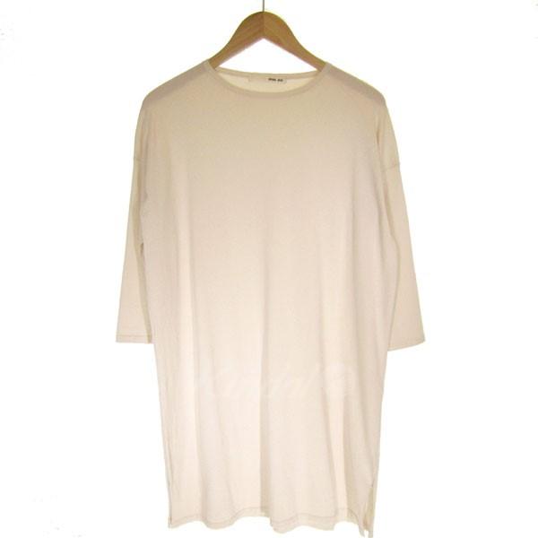 【中古】evam eva cotton silk onepiece ドロップショルダーワンピース 【送料無料】 【079701】 【KIND1641】