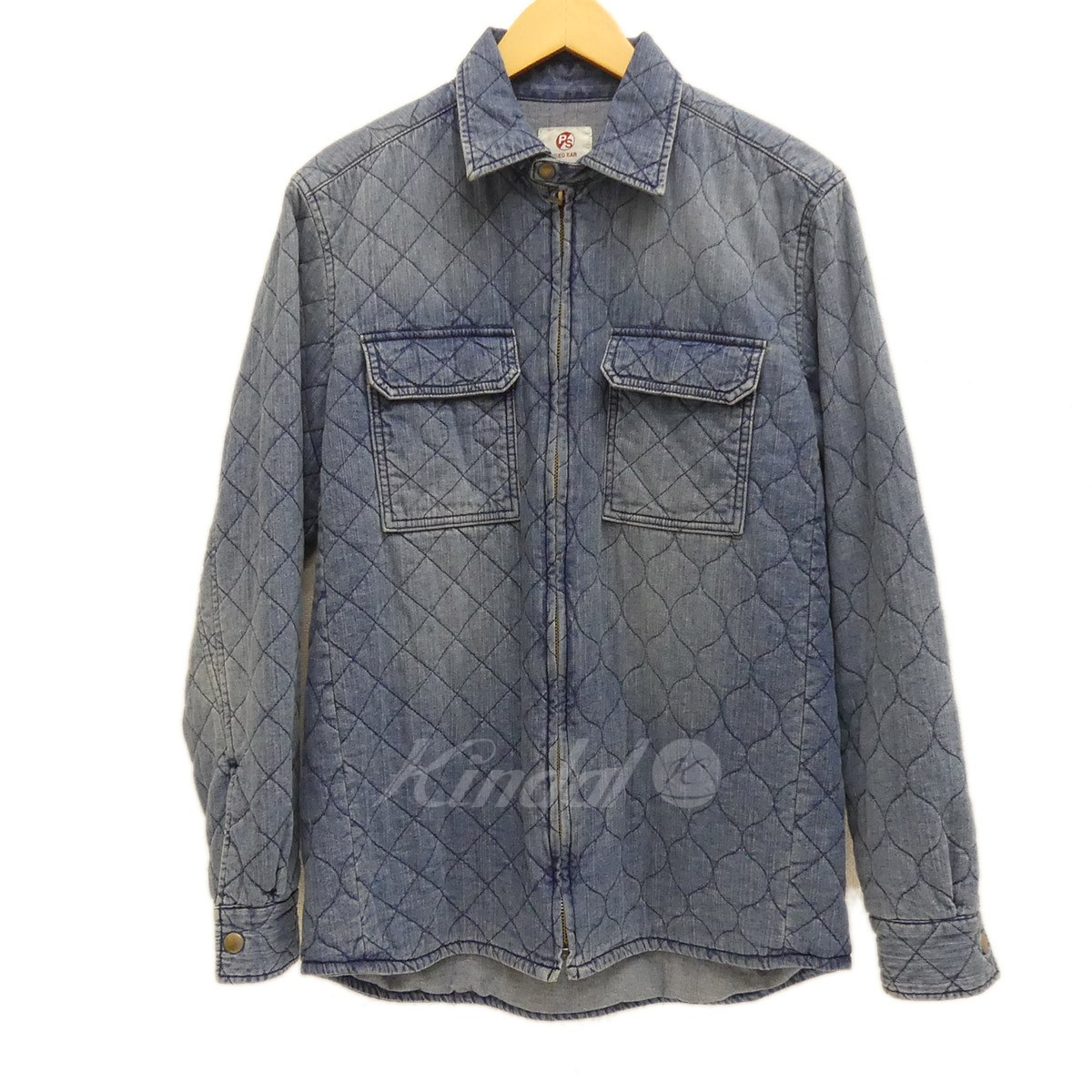 【中古】RED EAR Wadded Denim Red Ear Shirt-Jacket 2017AW 【送料無料】 【152683】 【KIND1550】
