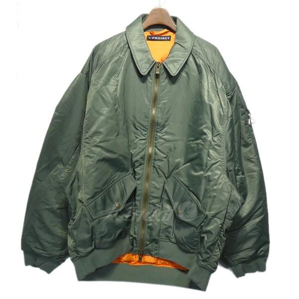 【中古】Y/PROJECT 「Bomber Jacket」オーバーサイズボンバージャケット 【送料無料】 【058103】 【KIND1550】