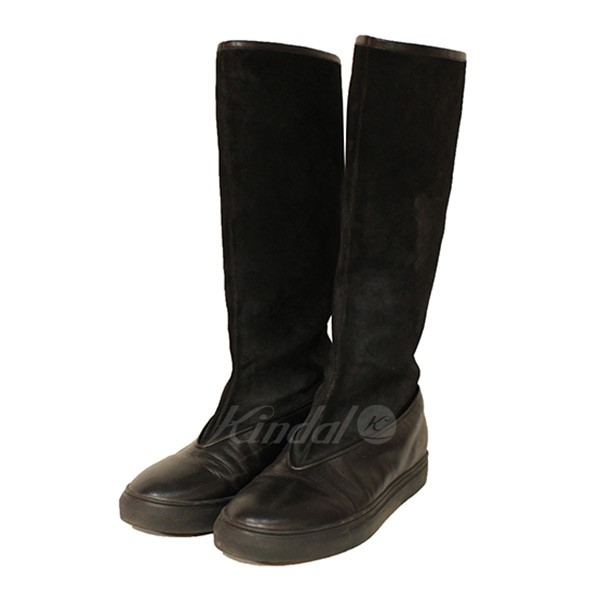 【中古】XANDER ZHOU 2017AW Leather Long Boots レザーロングブーツ 【送料無料】 【000339】 【KIND1641】