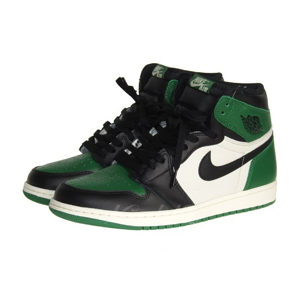 【中古】NIKE AIR JORDAN 1 RETRO HIGH OG PINE GREEN/エアジョーダン1レトロ 【送料無料】 【037400】 【KIND1641】