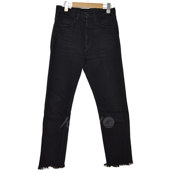【中古】FUMIKA UCHIDA 15AW HIGH WAIST DENIM SLIM PT 【送料無料】 【115293】 【KIND1550】