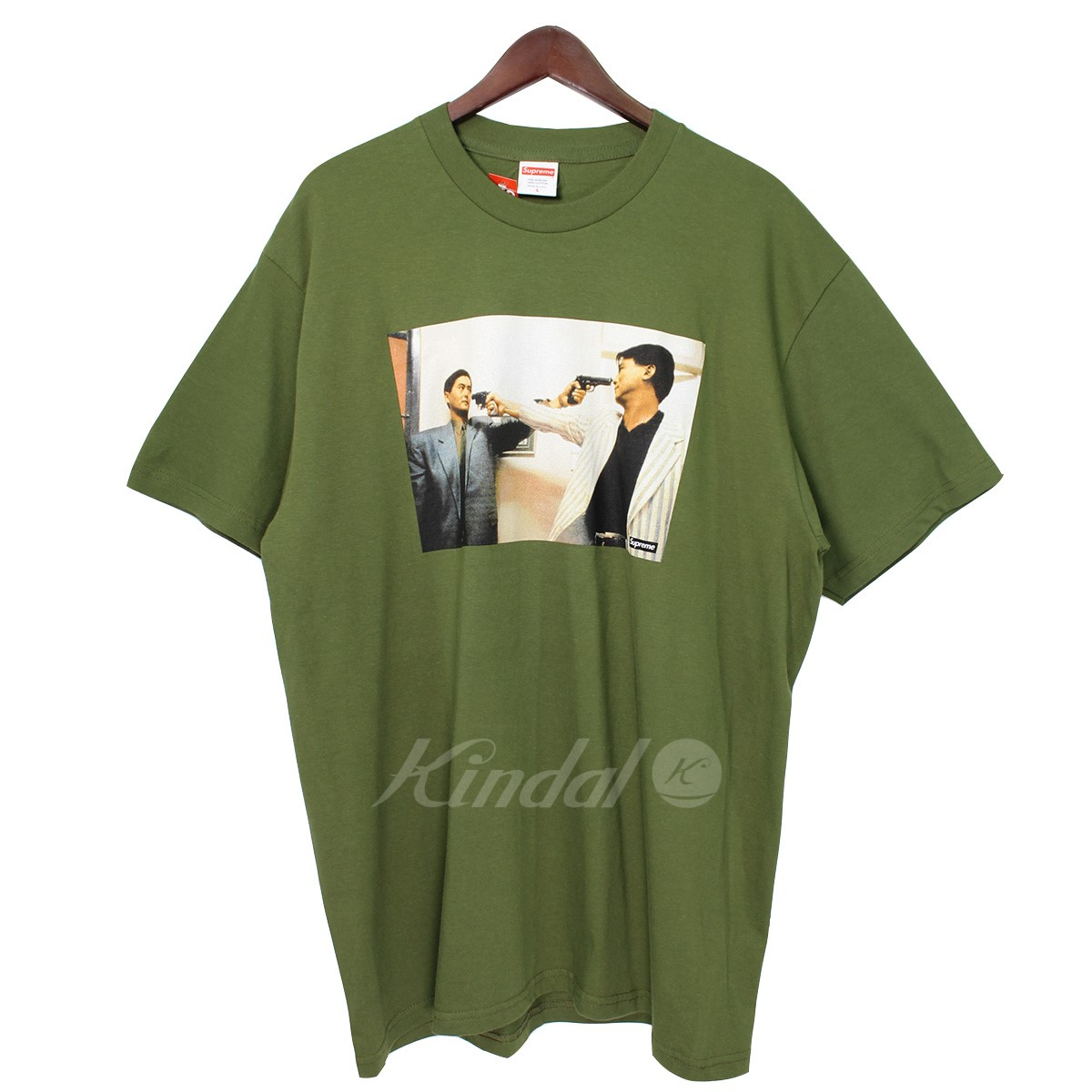 【中古】SUPREME 18AW The Killer Trust Tee ザキラートラストTシャツ カーキ サイズ:M 【送料無料】 【151118】(シュプリーム)