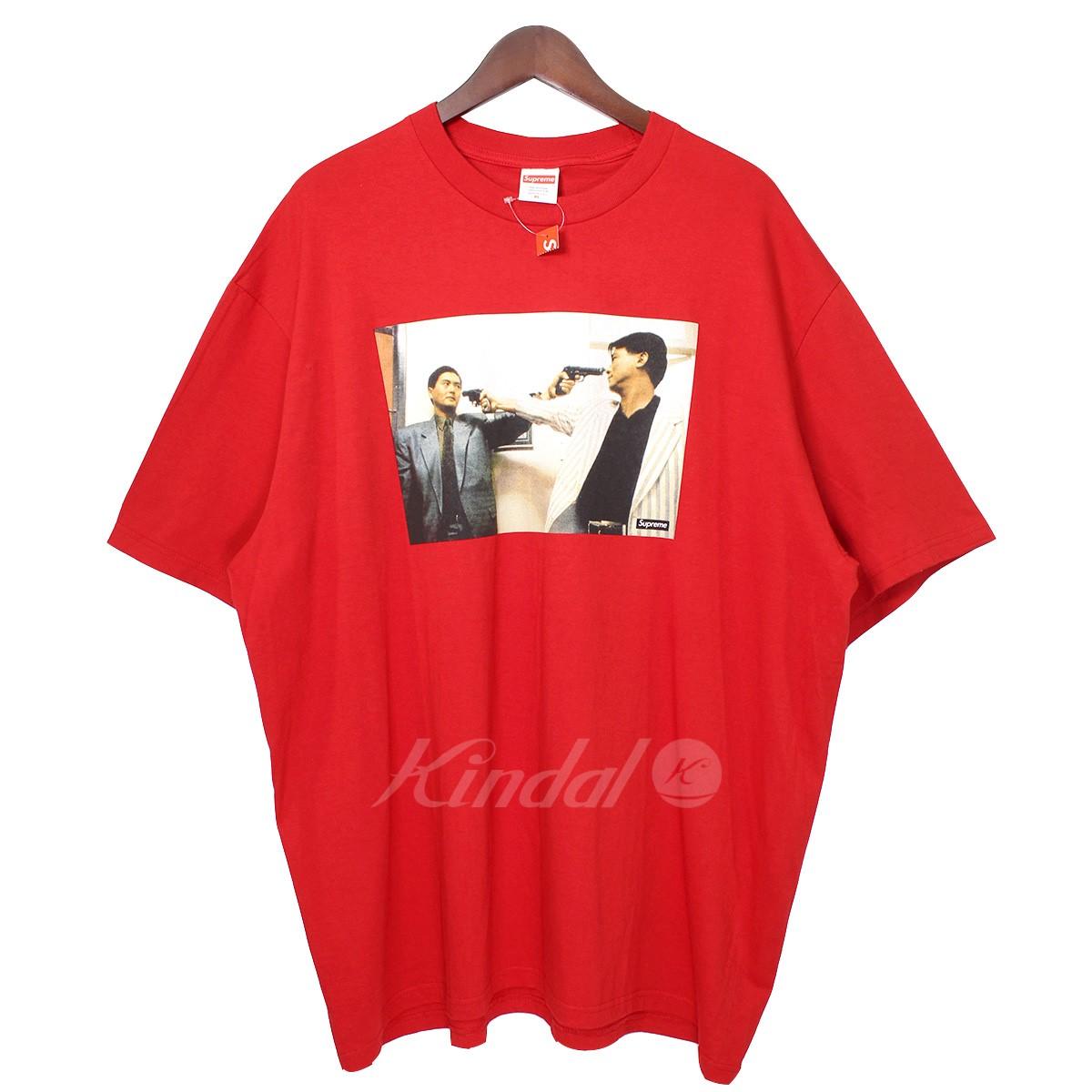 【中古】SUPREME 18AW The Killer Trust Tee ザキラートラストTシャツ レッド サイズ:XL 【送料無料】 【151118】(シュプリーム)