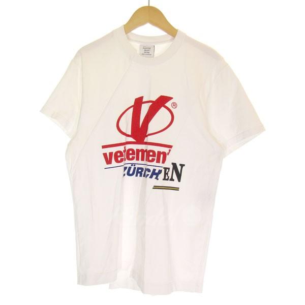 【中古】VETEMENTS Zurichコラボ reconstructed T-shirt コットン再構築Tシャツ 【送料無料】 【080608】 【KIND1550】