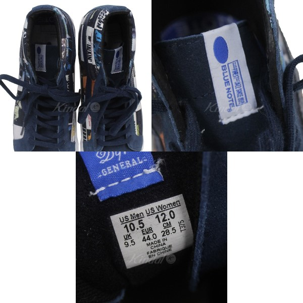 dadb191673 VANS X DQM X BLUE NOTE RECORDS THE COLORS SK8-HI LX skating high higher  frequency elimination sneakers navy size  28. 5cm (vans D cue M blue note  record)