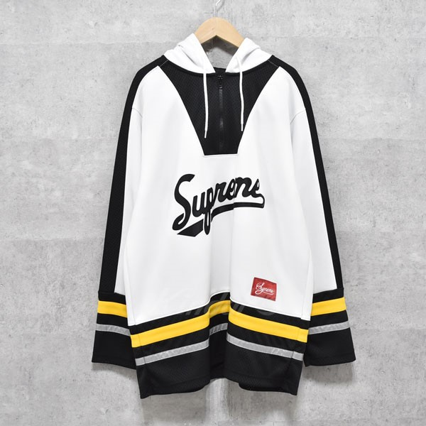 【中古】SUPREME 16AW 3M reflective hooded hockey TOP ホッケーパーカー 【送料無料】 【272547】 【KIND1550】