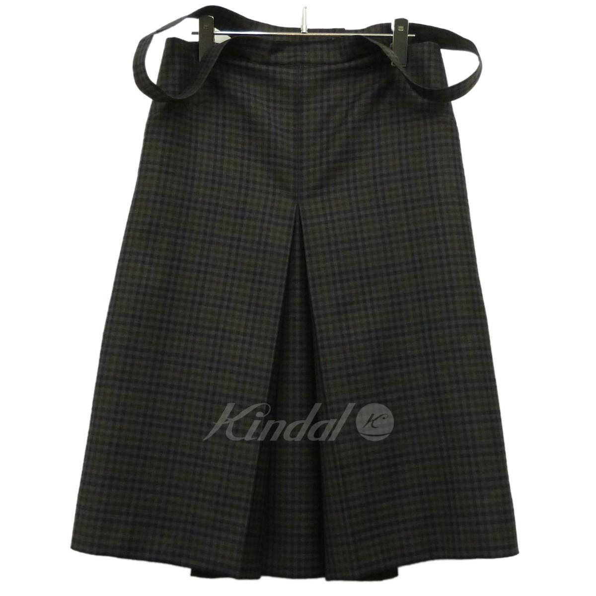 【中古】BALENCIAGA 17SS「box pleat checked dress」チェックボックスドレスワンピース 【送料無料】 【139753】 【KIND1550】