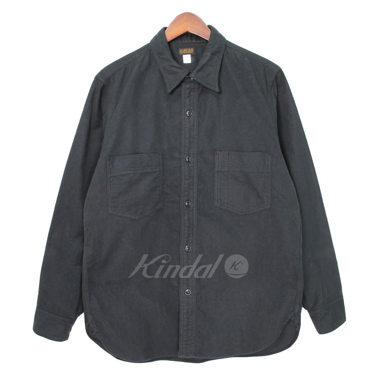 【中古】At Last&Co. LOT.352 モールスキンワークシャツ 【送料無料】 【006773】 【KIND1550】